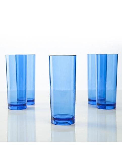 Plabar Kırılmaz Long Drınk 6lı Mavi